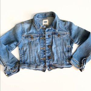 🐴5for$25🐴 Cropped Denim Jacket - Old Navy 6/7